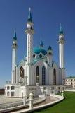 Qol Sharif meczet w Kazan Kremlin, Tatarstan, Rosja Zdjęcia Stock