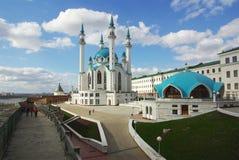 Qol Sharif meczet w Kazan Kremlin, Tatarstan, Rosja Obrazy Royalty Free