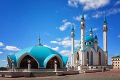 Qol Sharif mosque Royalty Free Stock Images