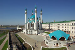 Qol Sharif Mosque in Kazan Kremlin, Tatarstan, Russia Royalty Free Stock Photos