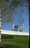 Qol Sharif Mosque in Kazan Kremlin, Tatarstan, Russia Royalty Free Stock Images
