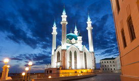 Qol Sharif mosque in Kazan Stock Photos