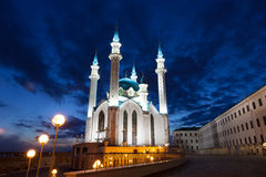 Qol Sharif mosque in Kazan Royalty Free Stock Images