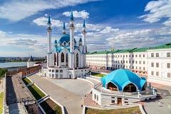 Qol Sharif Mosque. In Kazan, Tatarstan, Russia Royalty Free Stock Photography