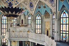 Qolsharif moské i Kazan, Ryssland Arkivbild