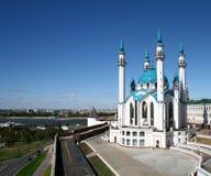 Qolsharif Mosque Stock Photo
