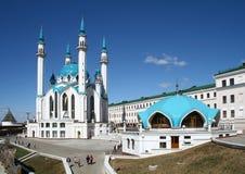 Qolsharif Mosque Stock Photography