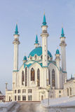 Qolsharif Mosque in Kazan Kremlin Stock Photography