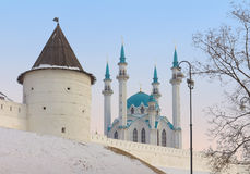 Qolsharif Mosque in Kazan Kremlin, Russia Stock Photos