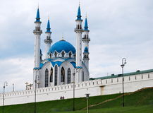 Qolsharif Mosque in Kazan Kremlin, Russia. Qolsharif Mosque in Kazan Kremlin, Tatarstan, Russia Royalty Free Stock Photo