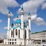Kremlin of Kazan, Russia Stock Photo