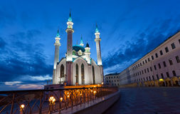 Qolsharif Mosque in Kazan Kremlin Royalty Free Stock Photo