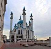 Qolsharif Mosque in Kazan Kremlin. Royalty Free Stock Image