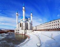 Qolsharif Mosque in Kazan, Tatarstan, Russia Stock Photos