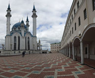Qolsharif mosque minaret in Kazan. Russia. Stock Photography