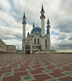 Qolsharif mosque minaret in Kazan. Russia. Royalty Free Stock Photos