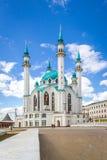Qolsharifmoskee in Kazan Royalty-vrije Stock Fotografie