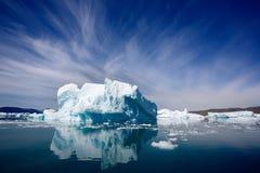 Qooroq Icefjord Photographie stock libre de droits