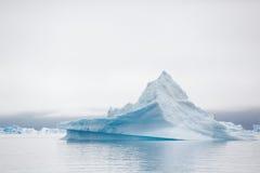 Qooroq Icefjord 免版税库存图片