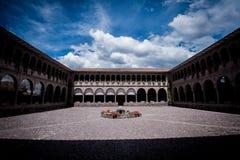 Qoricancha slott Arkivbilder