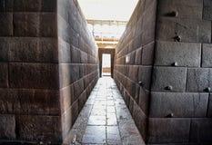 Qorikancha- The Inca temple of the sun -view inside- Cusco -Peru 110