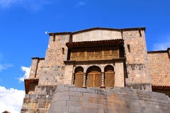 Qorikancha ruins and convent Santo Domingo in Cuzco Stock Images