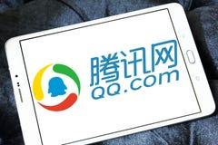 qq com logo Obrazy Stock