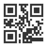 QR διάνυσμα κώδικα Κρυμμένο κείμενο ή Url Τεχνολογία Smartphone ανίχνευσης Απομονωμένη κλασική απεικόνιση QR διανυσματική απεικόνιση