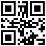 黑qr代码说热的价格 免版税图库摄影