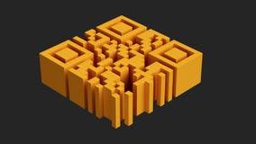 QR code Stock Afbeelding