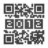 QR-code 2012 Stock Image