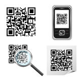 Qr code royalty free stock image