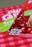 QR Code Royalty Free Stock Photography