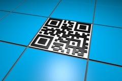 QR code Royalty-vrije Stock Foto
