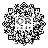 QR code abstract pattern Royalty Free Stock Photos
