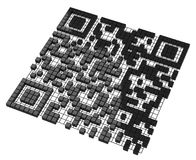 The QR code Stock Images