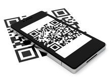 The QR code Stock Photography