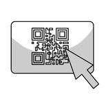 Qr code icon Stock Images