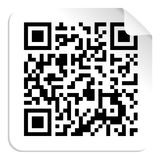 QR code label concept Stock Image