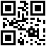 Qr code love word. Qr code with love word Stock Photo