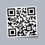 Qr code paper Stock Images