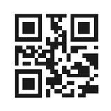 QR Code Vector Illustration Stock Photos