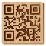 QR code - WOOD Stock Photography