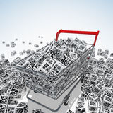 QR codes Stock Images