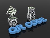 QR codes Royalty Free Stock Photo