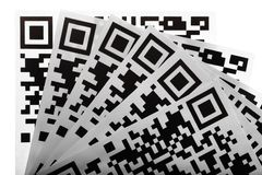 QR Codes Royalty Free Stock Photo