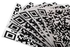 QR Codes Stock Photography