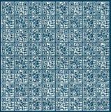 QR-kodbakgrund Arkivfoto