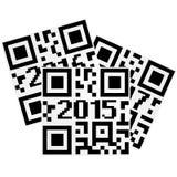 2015 QRcode Obraz Stock