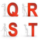 qrst Стоковые Изображения RF